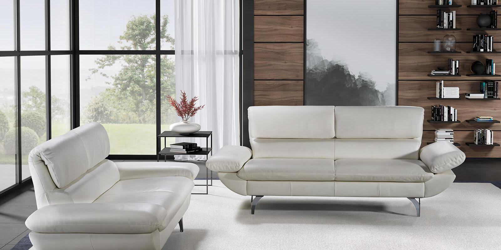 horst collection malix sofa design moebel weiss leder